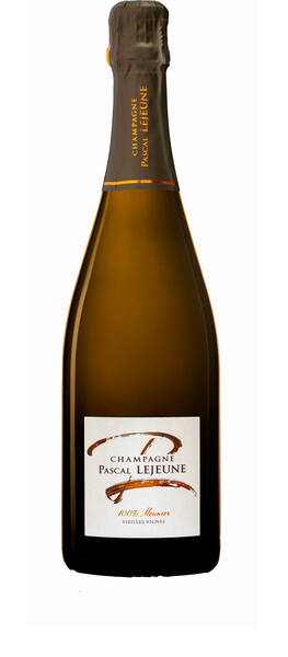 Champagne Pascal Lejeune - cuvée 100% meunier vieilles vignes - Pétillant