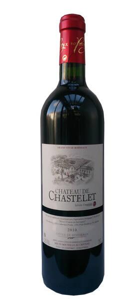 Château de Chastelet - château de chastelet - Rouge - 2010