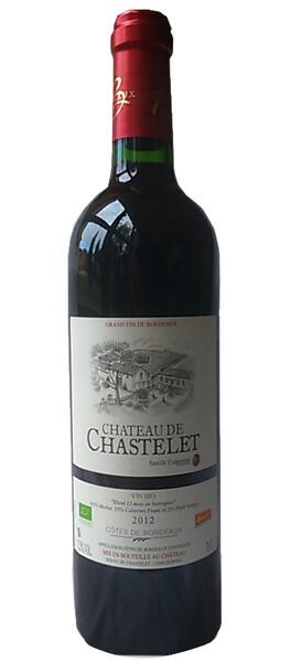 Château de Chastelet - Château de Chastelet - Rouge - 2012