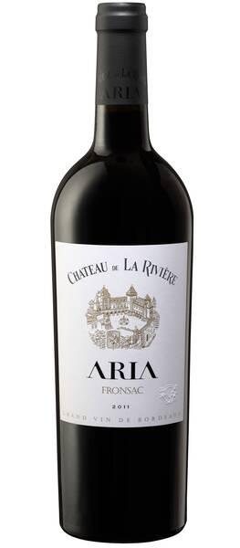 Château de La Rivière - aria - Rouge - 2011