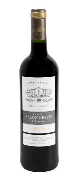Vignobles Garzaro - château baron bertin cuvée prestige - Rouge - 2016