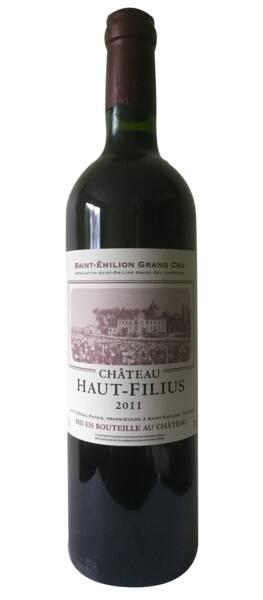 Vignobles Querre - château haut-filius - Rouge - 2012