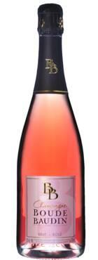 Champagne Boude-Baudin - Brut Rosé