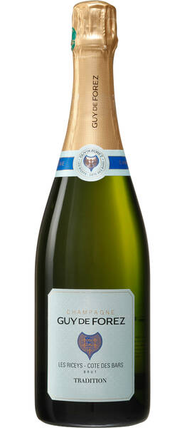Champagne Guy de Forez - brut tradition - Pétillant