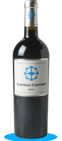 Château Cantinot - château cantinot - Rouge - 2010