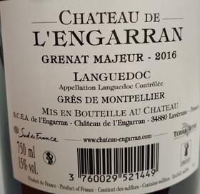 Château de l'Engarran - grenat majeur - Rouge - 2018