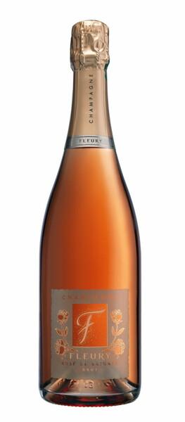 Champagne Fleury - de Saignée brut - Rosé