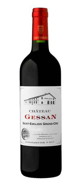 Château Gessan - saint-emilion-grand-cru - Rouge - 2016