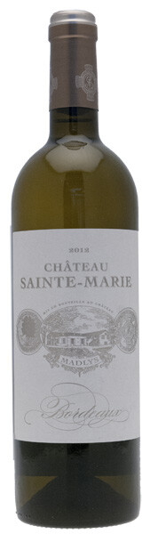 Château Sainte Marie - madlys - Blanc - 2018