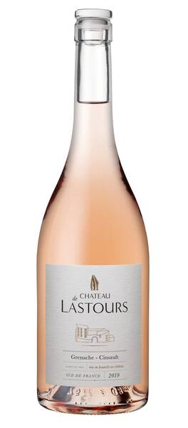 Château de Lastours - château de lastours - rosé - Rosé - 2019