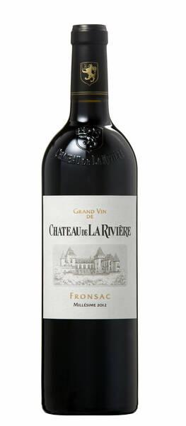 Château de La Rivière - grand vin - Rouge - 2014