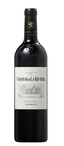 Château de La Rivière - grand vin - Rouge - 2013