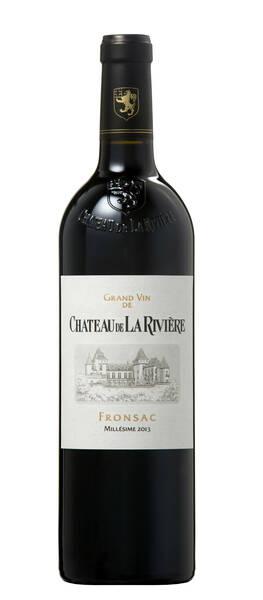 Château de La Rivière - grand vin - Rouge - 2016