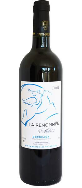 Château la Renommée - château la renommée rouge - Rouge - 2015