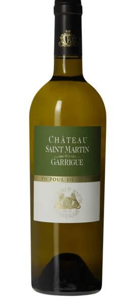 Chateau Saint Martin de la Garrigue - saint-martin de   - picpoul de pinet - Blanc - 2019