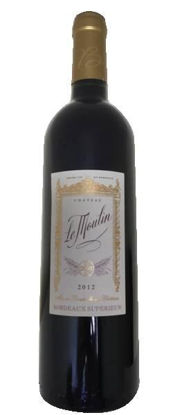 Vignobles Querre - château le moulin - Rouge - 2012