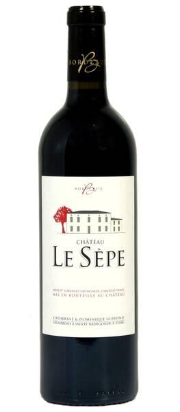 Château Le Sepe - cuvée classique - Rouge - 2016