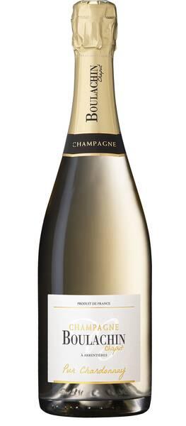 Champagne Boulachin Chaput - pur chardonnay - Blanc