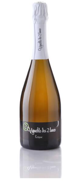 Vignoble des 2 lunes - Crémant blanc Eclipse * brut nature zéro dosage