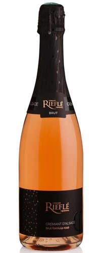 rieflé - crémant d'alsace- brut formula rosé sec