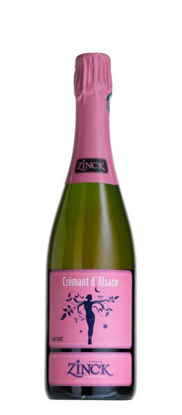Domaine Zinck - Crémant Brut Rosé - Pétillant