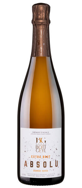 Domaine Bott-Geyl - cremant d'alsace extra-brut absolu grande cuvée - Pétillant