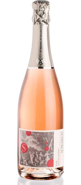 Domaine François Schwach - crémant rosé - Pétillant