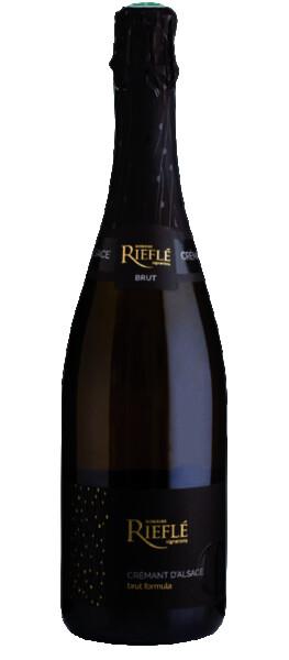 Domaine Riefle-Landmann - rieflé - crémant d'alsace- brut formula sec - Pétillant