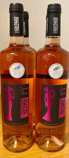 Vignoble Daheron - dame - Rosé - 2019