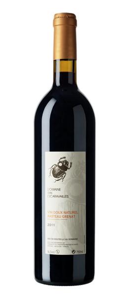 Domaine des Escaravailles - Vin Doux Naturel Grenat - 50 cl - Rouge - 2016