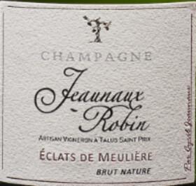 Champagne Jeaunaux-Robin - jeaunaux robin - brut nature eclats de meulière - Blanc