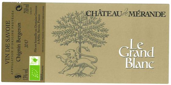 Château de Mérande - Le Grand Blanc