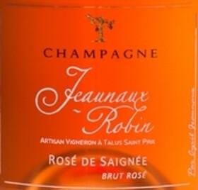 Champagne Jeaunaux-Robin - de saignée - Rosé