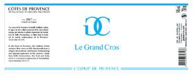 Domaine du Grand Cros - l'esprit de provence - Blanc - 2019