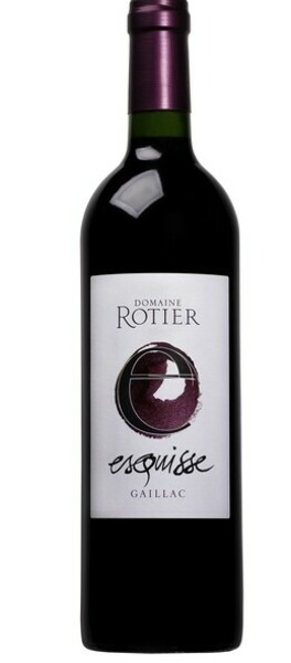 Domaine Rotier - esquisse - Rouge - 2018