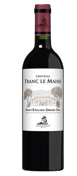 Les Vignobles Bardet - château franc le maine - Rouge - 2015
