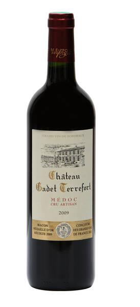 Château Gadet-Terrefort - gadet terrefort - cru artisan - Rouge - 2010