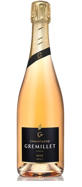 Champagne Gremillet - rosé d'assemblage brut - Pétillant