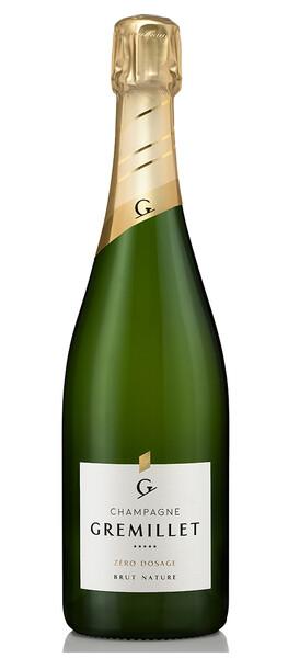 Champagne Gremillet - brut nature zéro dosage - Pétillant