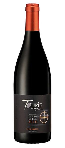 Domaine La Toupie - impro libre sans soufre - Rouge - 2019