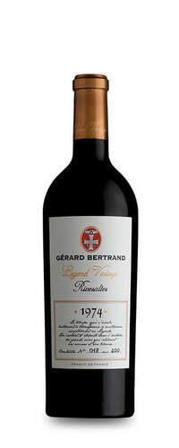 legend vintage rivesaltes  vin rouge gerard bertrand