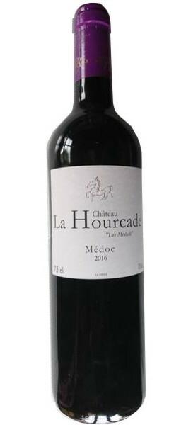 Chateau La Hourcade - les Medulli - Rouge - 2016