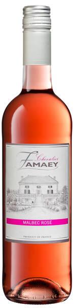 Château Famaey - chevalier  malbec - Rosé