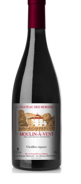 Chateau des Moriers - le moulin-à-vent - Rouge - 2013