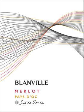 Blanville - merlot - Rouge - 2018