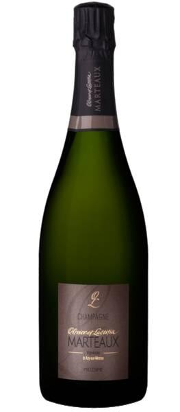Champagne Olivier et Laetitia Marteaux - millesime - Pétillant - 2012