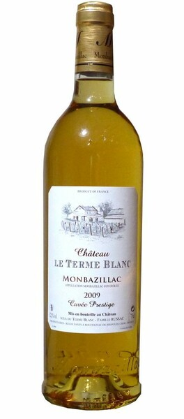 Château Le Terme Blanc - monbazillac prestige - Blanc - 2009