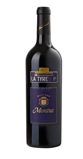 Châteaux Montus et Bouscassé - la tyre - Rouge - 2006