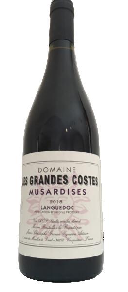 Domaine Les Grandes Costes - musardises - Rouge - 2018