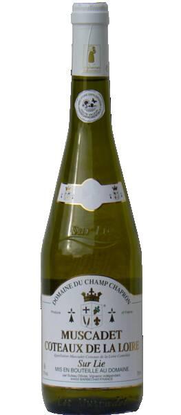 Domaine du Champ Chapron - muscadet coteaux de la loire sur lie - Blanc - 2020